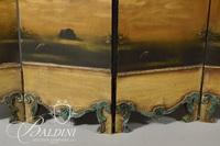 6-Panel Painted French Screen