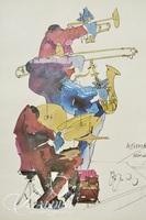 Leo Meiersdorff Framed Lithograph, Artist Signed