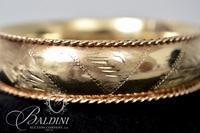 14K Yellow Gold Bangle Bracelet - 25.7 Grams