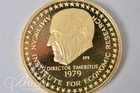 1979 Edward C. Harwood One Ounce 22K Pure Solid Gold Coin