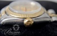 Lady's 18K Yellow Gold Rolex Stainless Steel Oyster Watch (Model 6719) - Not In Working Order
