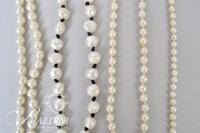 "Freshwater Pearl Necklace, 13.5"" Cultured Pearl Necklace, (2) Pair Cultured Pearl Earrings, (1) Pair Fresh Water Pearl Earrings and Simulated Pearl Necklaces"