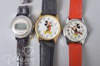 (2) Mickey Mouse Watches and (1) Timex
