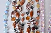 Assorted Necklaces with Simulated Gemstones