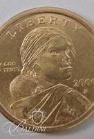 "2000 ""P"" Sacagawea One Dollar Coin"