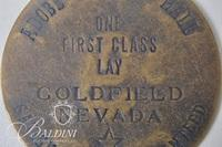 Adobe Concert Hall Goldfield Nevada Brothel Coin