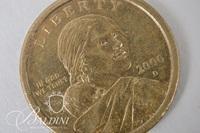 """2000 """"D"""" Sacagawea One Dollar Coin"""