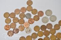 (3) U.S. Nickels, 150+ Penny's with Dates Ranging From 1920 to 1958 - 1901 and 1906 Liberty Nickel and 1935 (P) Buffalo Nickel