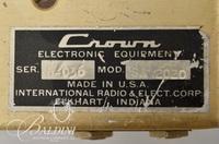 Crown SA 20-20 Serial No. S-036 Power Amp
