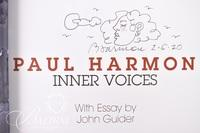 Paul Harmon: Inner Voices Book, Signed and Dated