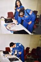 DAMAGED- Important Original Oil and Acrylic Painting on Paper Signed by the Crew of the Ill Fated Columbia STS-107 Crew and the Artist, Paul Harmon and Other Memorabilia