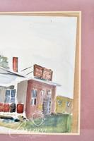 Adelaide Harmon  (1897 to 1988) Original Watercolor - Noted Tennessee Artist and Grandmother of artist Paul Harmon.