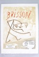 "Pierre-Marie Brisson ""Art Expo NY '83"" Carborundum Etching Signed and Unnumbered"