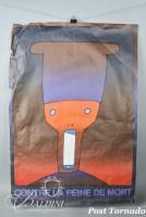 DAMAGED- Jean-Michel Folon Contre la Peine de Morte Poster