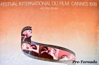DAMAGED- Jean-Michel Folon Festival International du Film Cannes Poster, 1978