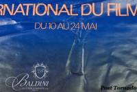 DAMAGED- Jean-Michel Folon Festival International du Film Cannes, 1979 Poster