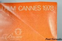 DAMAGED- Jean-Michel Folon Festival International du Film Poster, Cannes 1978