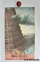 DAMAGED- Bruegel Poster, Un Dynastie Van Schilders, 1980