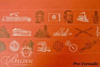 DAMAGED- Paul Harmon Signed Poster Nashville Century III, 1979