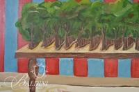 "Paul Harmon, ""Chalet de la Floret"", Oil on Canvas Signed and Dated on Reverse, 1978"