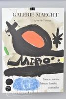 Miro Poster Galerie Maeght and George Braque Poster