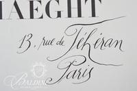 (2) Saul Steinberg Posters: Galerie Maeght Dessins, 1953 and Galerie Maeght Signatures with Blue Stamp