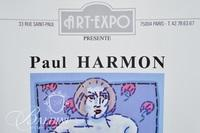 (2) Paul Harmon Signed Posters - Galerie d'Art Public, Paris 1989 and Galerie Art Expo, Paris 1990