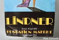 DAMAGED- Richard Lindner Poster Adults-Only, Foundation Maeght 1979 and Valerio Adami Poster, Galerie Maeght
