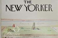 Saul Steinberg Poster The New Yorker, Cover 1976,