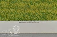 Cliff Johnston Poster Nashville Historic Buildings in Landscape - Dave Pfister and Jim Hsieh Poster of Belle Meade Mansion and Farm, Signed