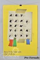 "Roy Carruthers Poster, ""Still life with safety razor,"" 1980 and DAMAGED- Ivan Chermaneff Poster, Art Expo New York, Signed 1979"