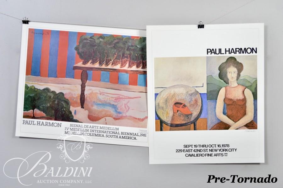 Works From the Private Collection of Paul Harmon Auction