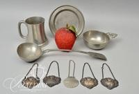 Assorted Pewter Pieces
