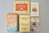 """(9) Assorted Cookbooks Including - """"Julia Child's Menu Cookbook"""" and Signed """"Recipes from Miss Daisy's"""""""