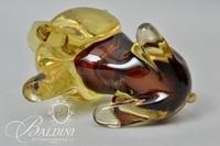 Lion Blown Art Glass