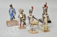 Antique Metal Soldiers