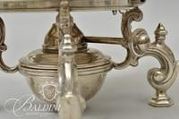 Victorian Garrard and Company English Sterling Silver Tea Kettle, Stand and Lamp - Total Weight 61.95 ozt