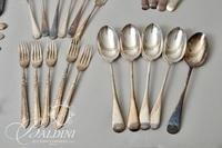 Assorted Sheffield Flatware by James Dixon and Other Pieces - Includes Reed & Barton Sterling Cake Server