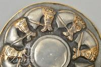 Letnitsa Treasure Bulgarian Trojan Horse Brooch From Metropolitan Museum of Art, 1977