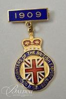 Assorted British Lapel Pins Includes Thomas Fattorini Shield Pin