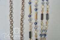 (3) Costume Necklaces and Yosca Starburst Brooch