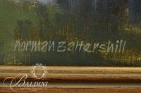 Norman Battershill (1922-2010) Landscape Oil on Canvas, Signed