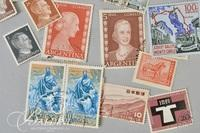 Assorted Stamps from All Over the World