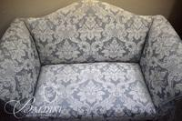 Sheraton Style Camel Back Sofa - Damaged