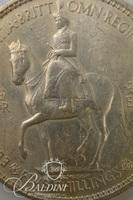 Five Shilling Commemorative Coin of the Coronation of Queen Elizabeth
