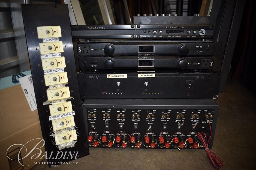 """Earthquake Sound Equipment from the Former Gulch Restaurant """"City Fire"""""""