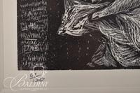 """Rosemary Feit Covey """"The Next Show"""" Etching Signed and Numbered 67/120"""