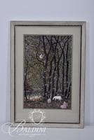 """Paul Lancaster """"Landscape with Fireflies"""" Ink and Acrylic, Signed"""