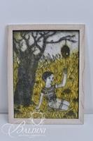 Amy Lee Weiss Collograph Print