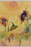 """Frances Vaughan """"High Noon"""" Watercolor Painting, Signed"""
